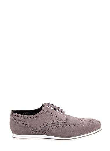 Ayakkabı Atölyesi Oxford Ayakkabı Gri